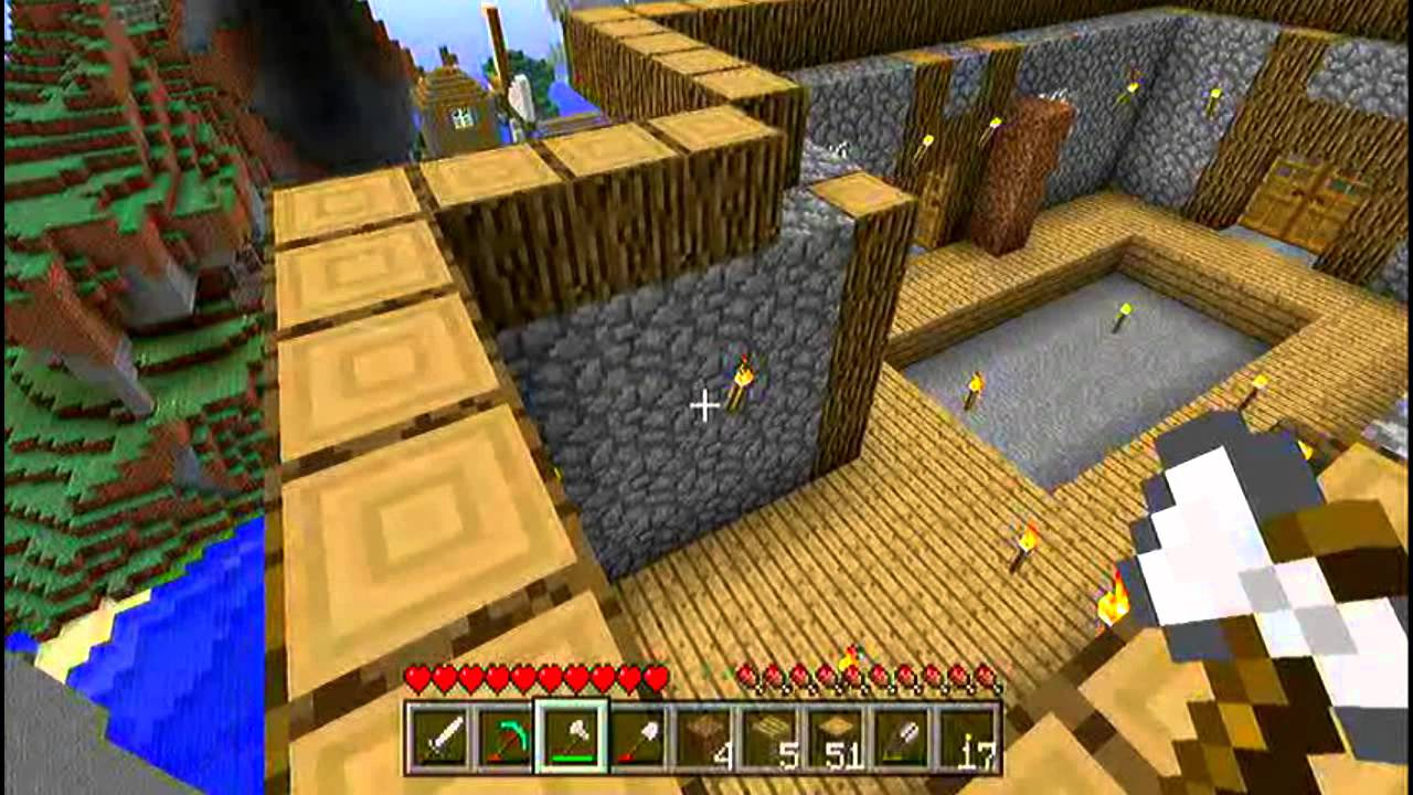 Lets Play Xbox Deutsch Minecraft Ultimatives HausBau - Minecraft xbox 360 hauser bauen