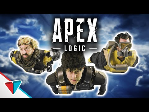 Parachuting Like A Pro In Apex Legends - Parachute