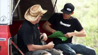 Street Outlaws Deleted Scene - Farmtruck and AZN Car Trouble in Cali
