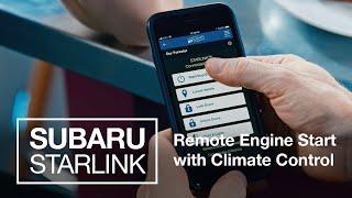 homepage tile video photo for Remote Engine Start | SUBARU STARLINK