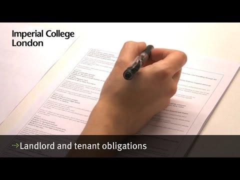 Landlord And Tenant Obligations