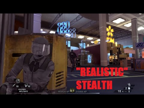 """Tim Clancy's Rainbow Six: Vegas 2: Convention """"stealth"""" gameplay"""