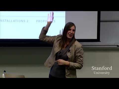 Stanford Seminar - From Falling Text to Custom Glass- Adventures in Interactive Art