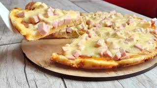 Нет времени на готовку Пицца на сковороде быстро и просто 0