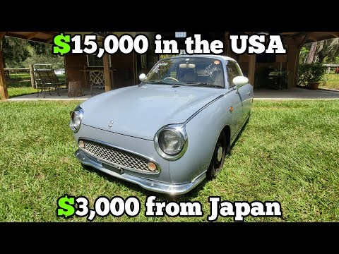 I Bought A Cheap JDM Nissan From An Online Japanese Auto Auction! It Was A Total STEAL!