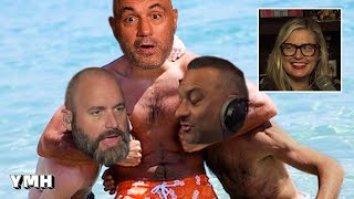 Joe Rogan Beats Up Tom Segura & Russell Peters - YMH Highlight