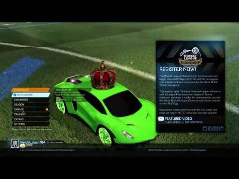 ROCKET LEAGUE: COSMIC MAP IS THE BEST!!!!!!!!