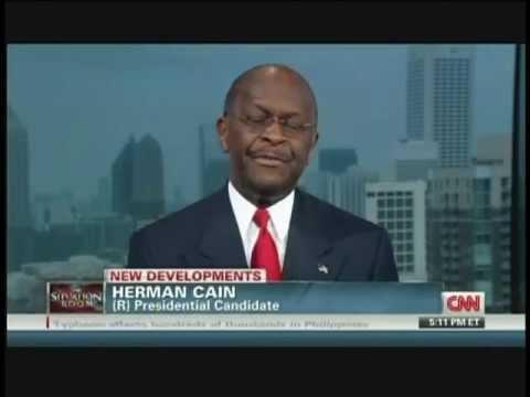 Herman Cain Wolf Blitzer Interview (September 28, 2011)