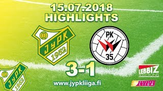 JyPK - PK-35 Vantaa 15.07.2018 Highlights!