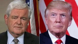 Newt Gingrich on messages of faith in Trump's Poland speech