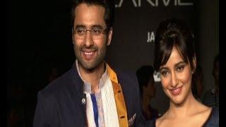 Nauheed Cyrusi at LFW  - IANS India Videos