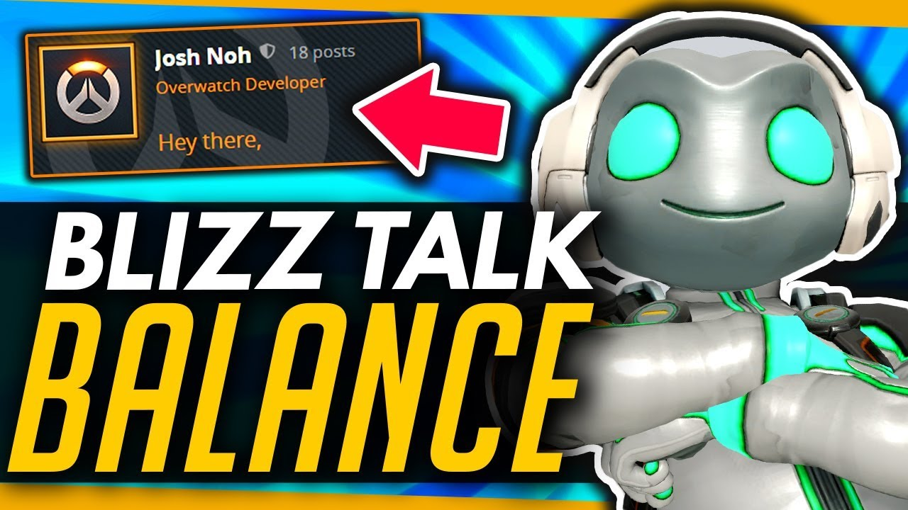 Overwatch | Blizzard Talk About Reverting Changes & Meta Concerns thumbnail