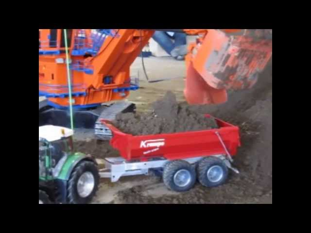 RC AND MODELLDAYS BOCHOLT 2013, RC TRACTOR, RC DOZER, RC MODELLE, Travel Video
