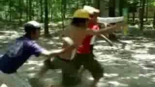 5 anh em sieu nhan (gao ranger cua Vip Bien Hoa)
