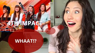 PERFORMANCE COACH reacts to 4th Impact Jessie J Bang Bang x factor audition