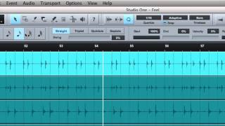 Joe Gilder's Studio One Tutorial Series Episode 21: The Arrange Window's Top Buttons