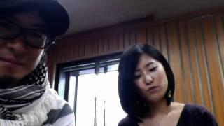 エフエム宮崎 朝の番組 JOY FM HYBRID MORNING のパーソナリティの二人...