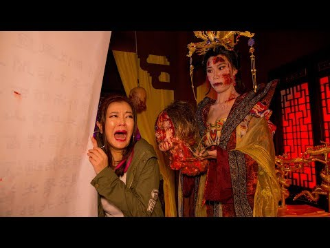 Ah Lian goes to Halloween Horror Nights 7 | LIM BU NOT SCARED!