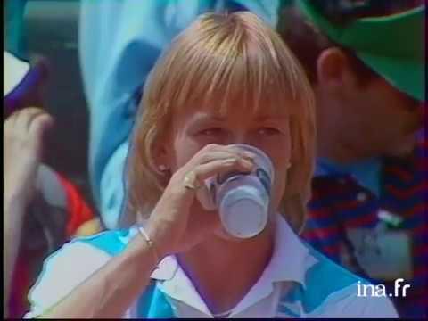 Martina Navratilova vs Chris Evert Roland Garros 1984