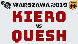 QUESH vs KIERO WBW2K19 Warszawa (baraż) Freestyle Battle