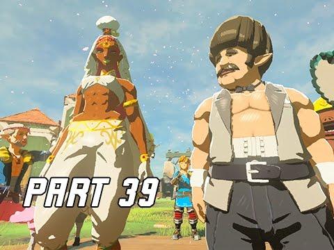Legend of Zelda Breath of the Wild Walkthrough Part 39 - TARREY TOWN (Let's Play)