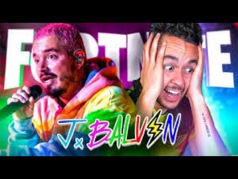 Download ¡¡REACCIONANDO AL GRAN CONCIERTO DE J. BALVIN EN FORTNITE!!-(TheGrefg)