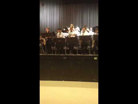 Moe-Town Easter with Edison High School Jazz Ensemble playi