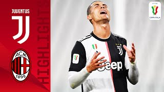Juventus 0-0 Milan | Ronaldo Misses Pen As Juve Advance To The Final | Semi-finals | Coppa Italia