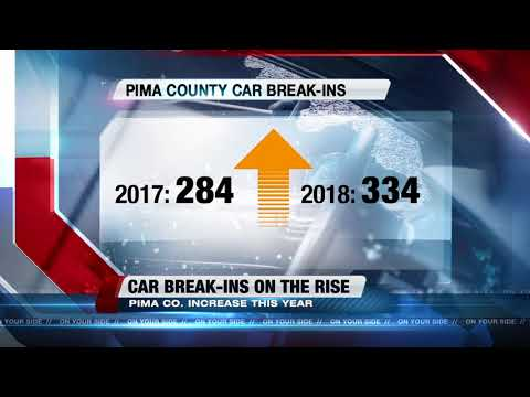 Authorities see an increase in car break-ins throughout city, county
