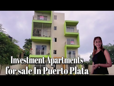 Investment Apartment For Sale/lifestyle Apartment For Sale In Puerto Plata Dominican Republic