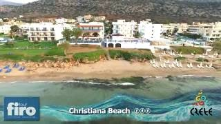 Hotel Christiana Beach ***, Řecko - Kréta - FIRO-tour