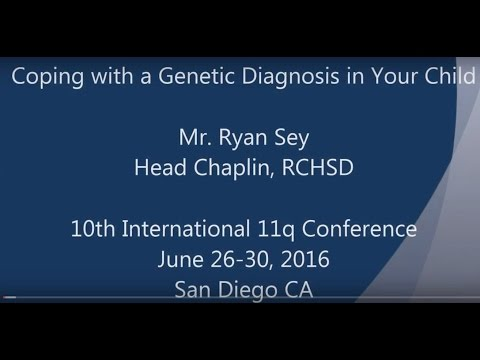 Coping with a genetic diagnosis in your child - 11q conference