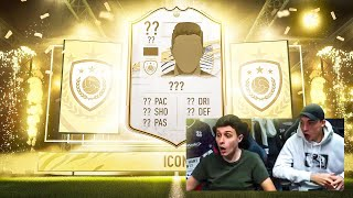 WE PACKED AN ICON IN OUR FUT CHAMPS REWARDS!!! FIFA 21 ULTIMATE TEAM