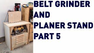 Making The Belt Grinder Stand Part 5