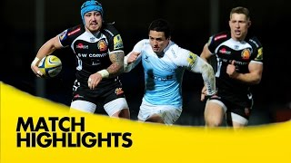 Exeter Chiefs v Newcastle Falcons - Aviva Premiership Rugby 2014/15