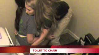 Chair to Toilet Transfer
