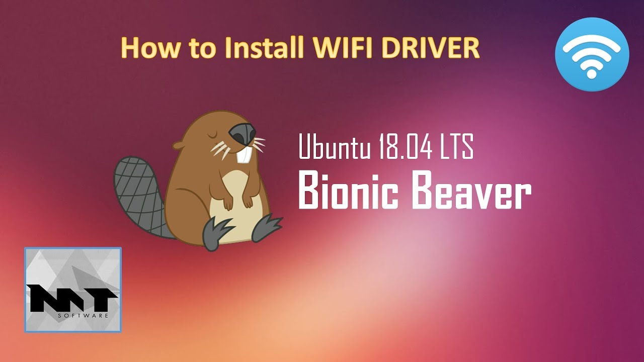 How To Install WIFI Driver on Ubuntu 18 04