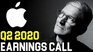 Apple Stock Q3 2020 Earnings Call | AAPL Facebook Google Stock Analysis
