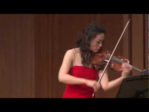 山歌(Mountain Song)/馬思聡     Violin:劉薇(Liu Wei)