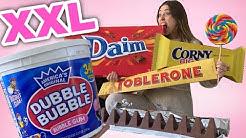 DAS sind die größten XXXL Süßigkeiten 😳  Der Test | Bibi
