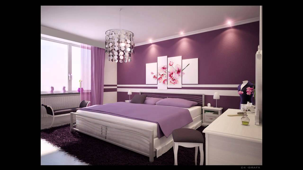 Nice bedroom decorations ideas - Home Art Design Decorations - YouTube