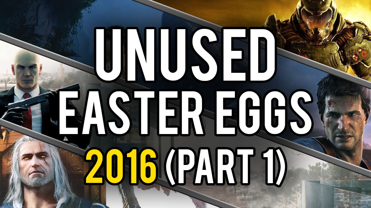 Best Unused Video Game Easter Eggs of 2016 (Part 1) - YouTube