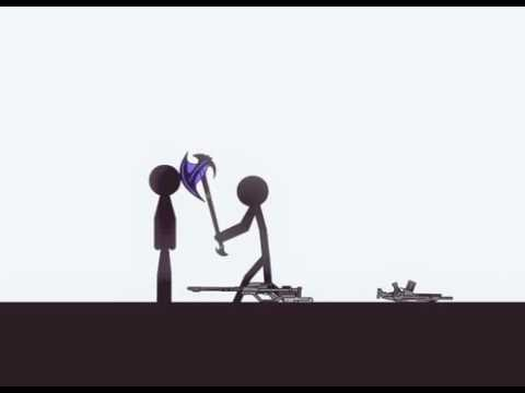 Stickman On Crack four Stickmens Fail  FUNNY VIDEO