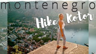 Things to do in Montenegro: Hike the Ladder of Kotor