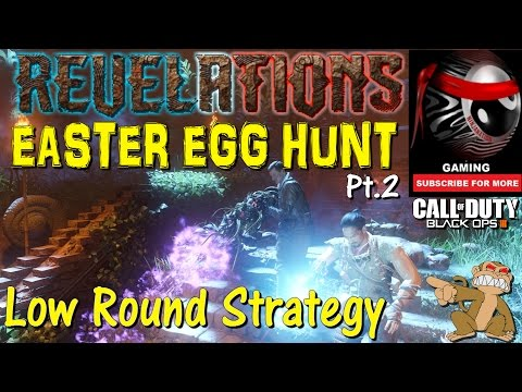 "BO3 Zombies ""REVELATIONS"" MAIN EASTER EGG HUNT Pt.2 W/ The Ninjas (Low Round Strategy)"