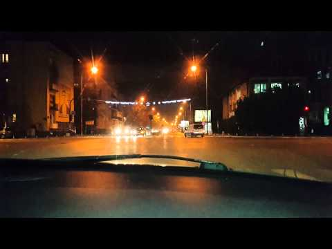 Podgorica night driving (part 2)