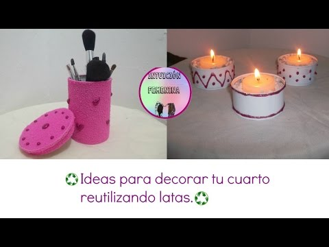 Vote no on : 216. manualidades: decora tu cuarto 3 ideas(recic