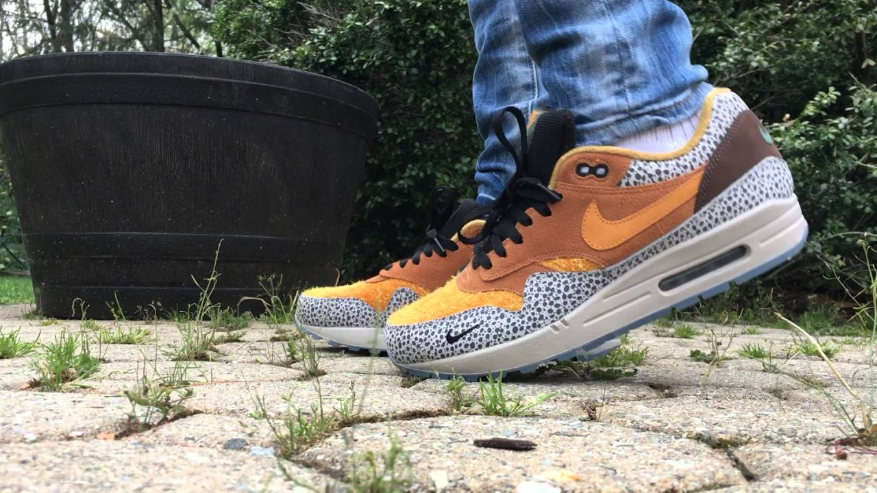 Air Max Safari On Feet
