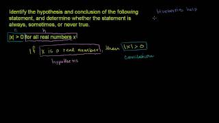 Understanding Logical Statements 1