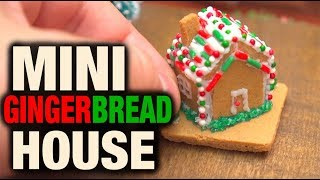 MINI GINGERBREAD HOUSE!